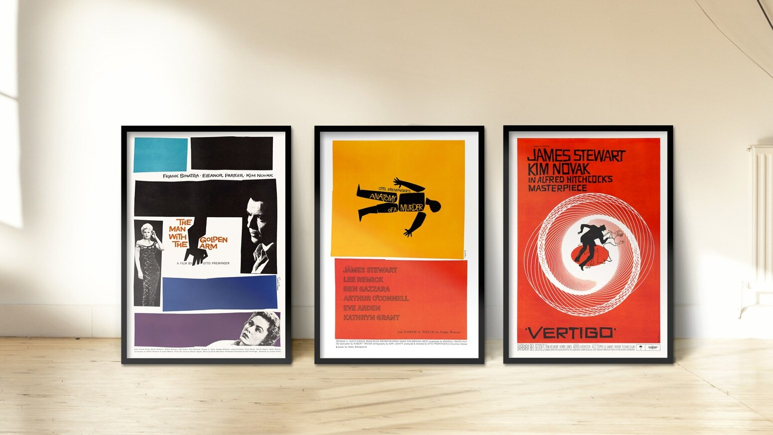 Saul Bass' Movie Posters