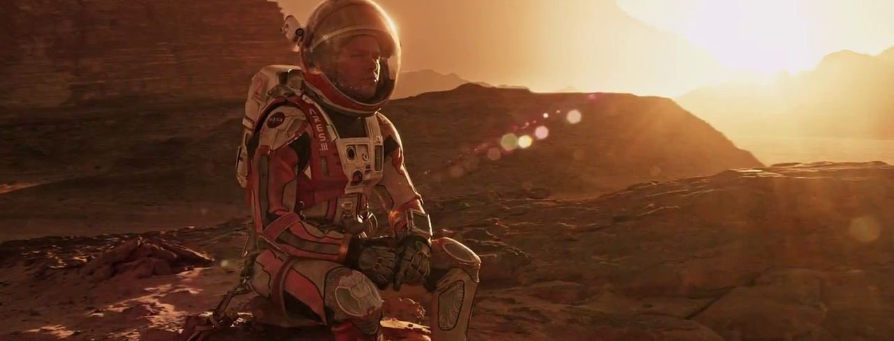 Film: The Martian feature image